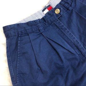 Tommy Hilfiger Shorts - Tommy Hilfiger • Navy Mom Shorts